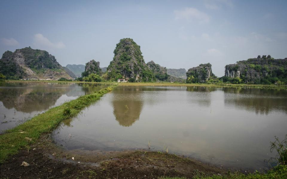 Ninh Binh – limestone hills