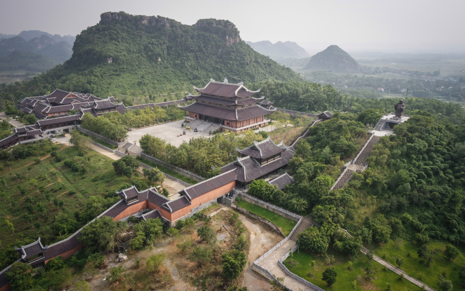 View from a pagoda in Ninh Binh
