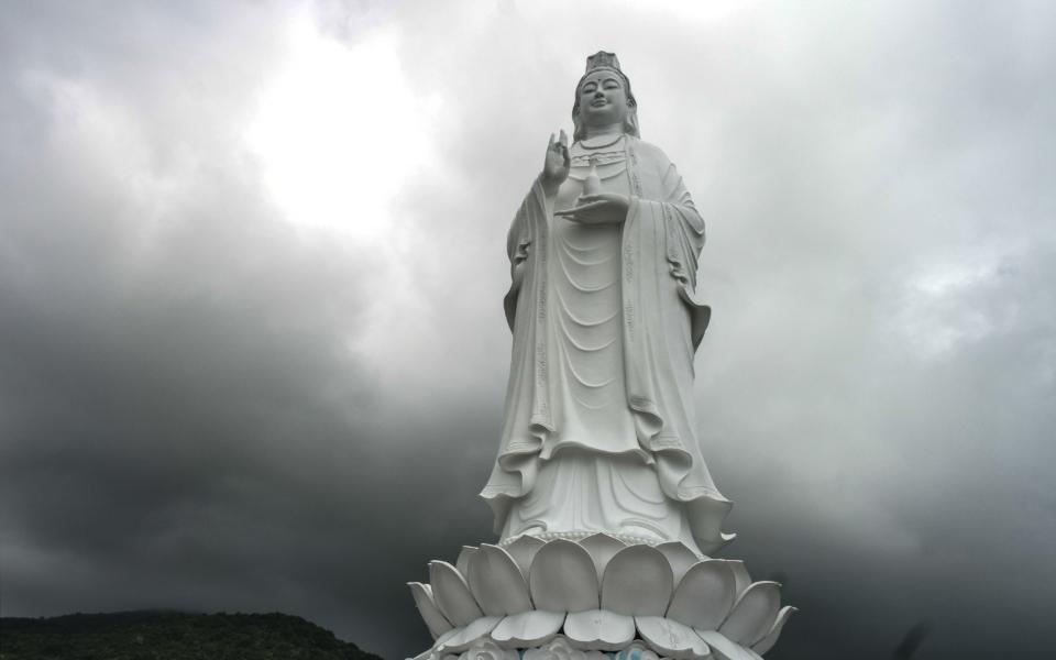 Impressive Lady Buddha in Da Nang